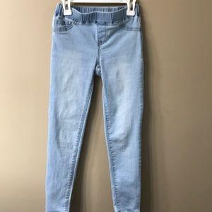 Like NEW Cat & Jack denim pull on pants